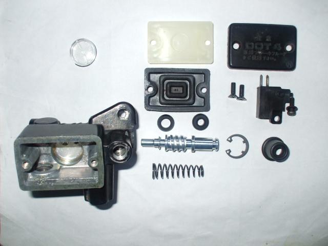 XLR250R フロントブレーキマスターシリンダー画像