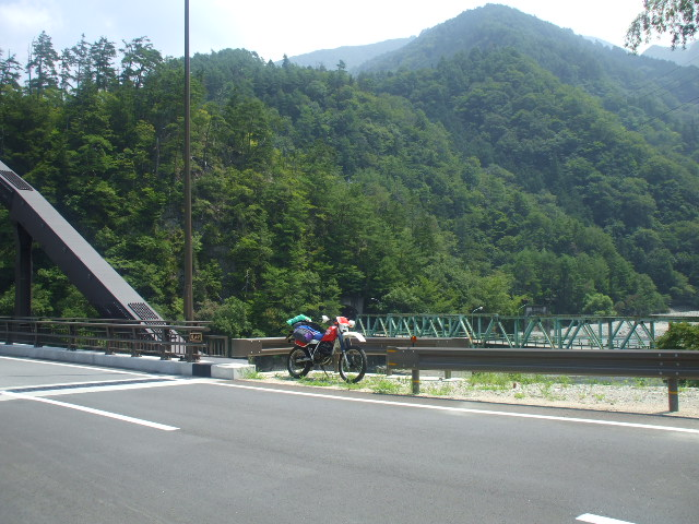 天龍村の橋