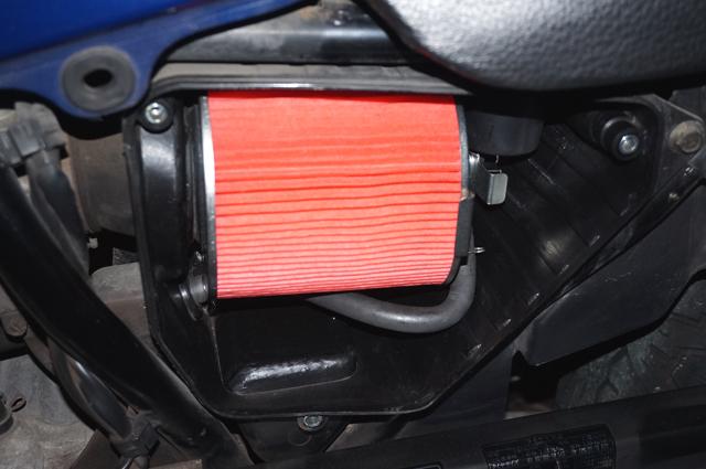 ナイトホーク250 エアクリーナーボックス