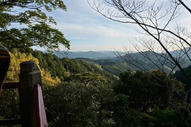 鳳来寺 景色
