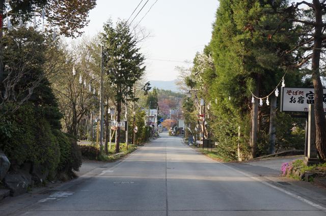 戸隠神社周辺