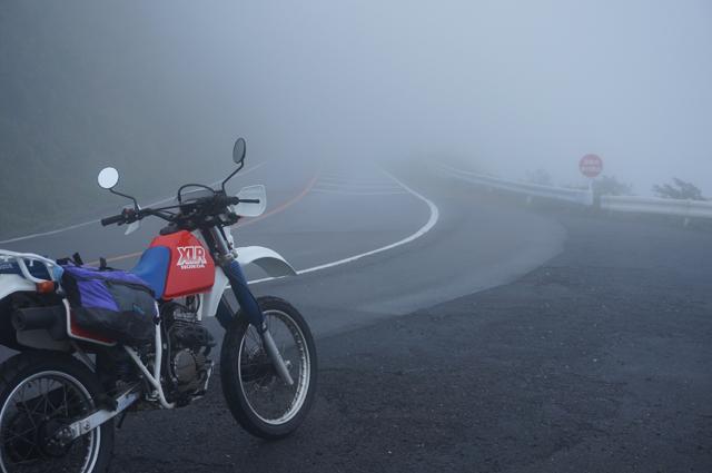 伊吹山ドライブウェイの霧