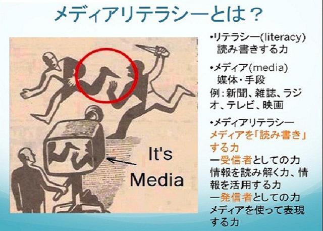 メディアリテラシー